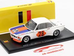 BMW CSL #28 Vincitore Gr.2 Coupes de Spa 1973 Niki Lauda 1:43 Spark