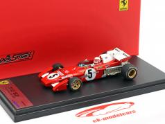 Clay Regazzoni Ferrari 312B2 #5 British GP formula 1 1971 1:43 LookSmart