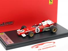 Mario Andretti Ferrari 312B2 #5 4th German GP F1 1971 1:43 LookSmart