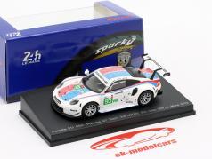 Porsche 911 RSR GTE #93 3. LMGTE Pro 24h LeMans 2019 Porsche GT Team 1:64 Spark