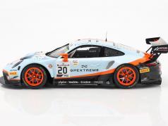 Porsche 911 GT3 R #20 Vencedora 24h Spa 2019 Christensen, Lietz, Estre 1:18 Spark