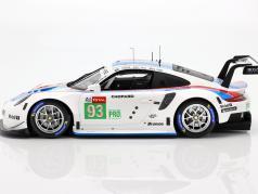 Porsche 911 RSR GTE #93 3 ° LMGTE Pro 24h LeMans 2019 Porsche GT Team 1:18 Spark