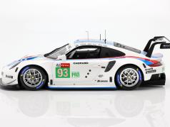 Porsche 911 RSR GTE #93 3º LMGTE Pro 24h LeMans 2019 Porsche GT Team 1:18 Spark