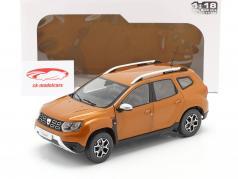 Dacia Duster MK2 Baujahr 2018 taklamakan orange 1:18 Solido