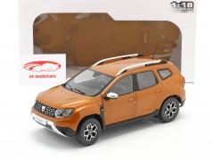 Dacia Duster MK2 year 2018 taklamakan orange 1:18 Solido