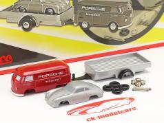 Porsche レーシングサービス 組立ボックス ために の 小さい レーシングメカニック 1:90 Schuco Piccolo