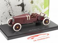 Alfa Romeo G1 Targa Florio #11 1921 Sombrio vermelho 1:43 AutoCult
