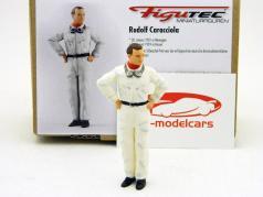 Rudolf Caracciola chauffør figur Mercedes 1:18 Figutec tal