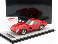 Ferrari 250 GTO 64 presse version 1964 corsa rouge 1:18 Tecnomodel