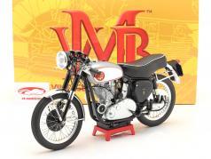 BSA Goldstar Clubman Byggeår 1956 sølv / sort 1:6 Vintage Motor Brands