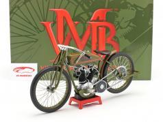 Harley Davidson 8-Valve Board Track Racer 建设年份 1923 绿色 1:6 Vintage Motor Brands