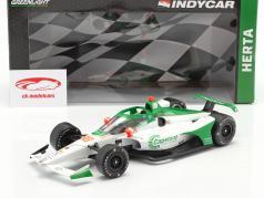Colton Herta Honda #88 Indycar Series 2020 Andretti Harding Steinbrenner Autosport 1:18 Greenlight