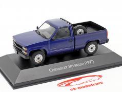 Chevrolet Silverado 建设年份 1997 蓝色 1:43 Altaya