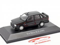 Fiat Duna SCX Ano de construção 1989 Preto 1:43 Altaya