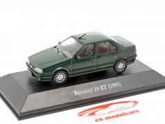 Renault 19 RT year 1995 dark green 1:43 Altaya