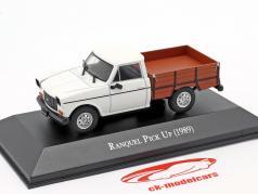 Renault Ranquel Pick-Up Baujahr 1989 weiß / braun 1:43 Altaya