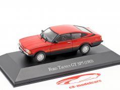 Ford Taunus GT SP5 Byggeår 1983 rød 1:43 Altaya