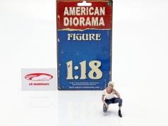 Car Girl Michelle figure 1:18 American Diorama