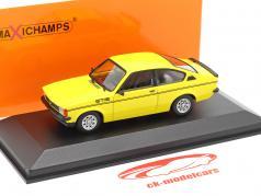 Opel Kadett C GT/E Année de construction 1978 Jaune 1:43 Minichamps