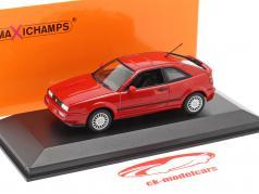 Volkswagen VW Corrado G60 Bouwjaar 1990 rood 1:43 Minichamps