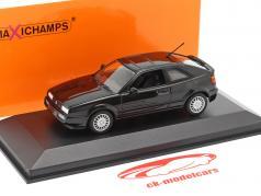 Volkswagen VW Corrado G60 Baujahr 1990 schwarz 1:43 Minichamps