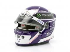 Lewis Hamilton #44 Mercedes-AMG Petronas fórmula 1 2020 casco 1:2