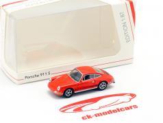 Porsche 911 S arancia rossa 1:87 Schuco