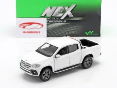 Mercedes-Benz X class year 2018 white 1:24 Welly