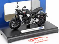 Honda CB 1000 R 建设年份 2018 黑色 1:18 Welly