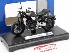 Honda CB 1000 R year 2018 black 1:18 Welly