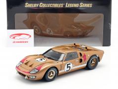 Ford GT40 MK II #5 3rd 24h LeMans 1966 Bucknum, Hutcherson 1:18 ShelbyCollectibles
