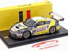 Porsche 911 GT3 R #998 2nd 24h Spa 2019 Rowe Racing 1:43 Spark