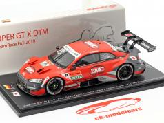 Audi RS 5 DTM #28 Pole Position Super GT & DreamRace Fuji 2019 Duval 1:43 Spark