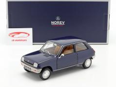 Renault 5 Año de construcción 1973 azul oscuro 1:18 Norev