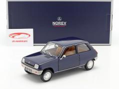 Renault 5 year 1973 dark blue 1:18 Norev