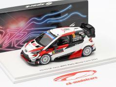 Toyota Yaris WRC #18 7mo Rallye Monte Carlo 2020 Katsuta, Barritt 1:43 Spark