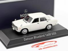 Datsun Bluebird 1600 SSS Baujahr 1969 weiß 1:43 Norev