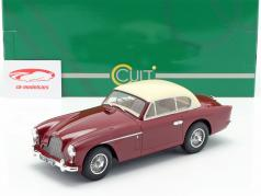 Aston Martin DB 2-4 MK II FHC Notchback 1955 red / cream white 1:18 Cult Scale