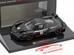 Schumacher Ferrari FXX Negro #30 1:43 Hotwheels Elite