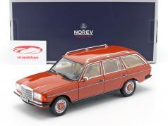 Mercedes-Benz 200 T (S123) 建设年份 1982 英语 红 1:18 Norev