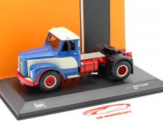 Scania 110 Super Truck year 1953 blue / white / red 1:43 Ixo