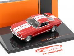 Ford Mustang Shelby GT 350 Ano de construção 1965 vermelho / Branco 1:43 Ixo