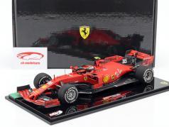 Charles Leclerc Ferrari SF90 #16 Winnaar Italië GP F1 2019 Met Showcase 1:18 BBR