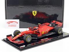 Charles Leclerc Ferrari SF90 #16 Winnaar België GP F1 2019 1:18 BBR