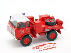 Iveco-Unic 75 PC brandweer Frankrijk rood / Wit 1:43 Atlas