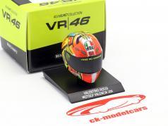Valentino Rossi MotoGP Valencia 2011 AGV helm 1:10 Minichamps