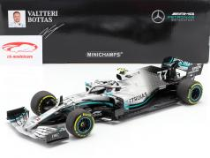 V. Bottas Mercedes-AMG F1 W10 EQ Power  #77 2e China GP F1 2019 1:18 Minichamps