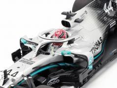 L. Hamilton Mercedes-AMG F1 W10 #44 Campeão mundial China GP F1 2019 1:18 Minichamps