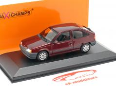Opel Kadett E Baujahr 1990 rot metallic 1:43 Minichamps