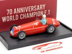G. Farina Alfa Romeo 158 #2 Champion du monde Grande Bretagne GP F1 1950 1:43 Brumm